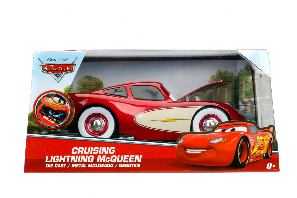 1 24 Lightning Mcqueen Cruising Cars Metals Die Cast
