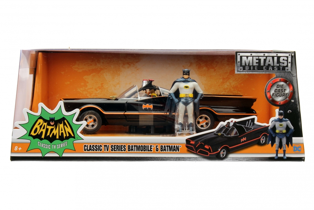 1:24 Batmobile w/ Batman (Classic TV Series)