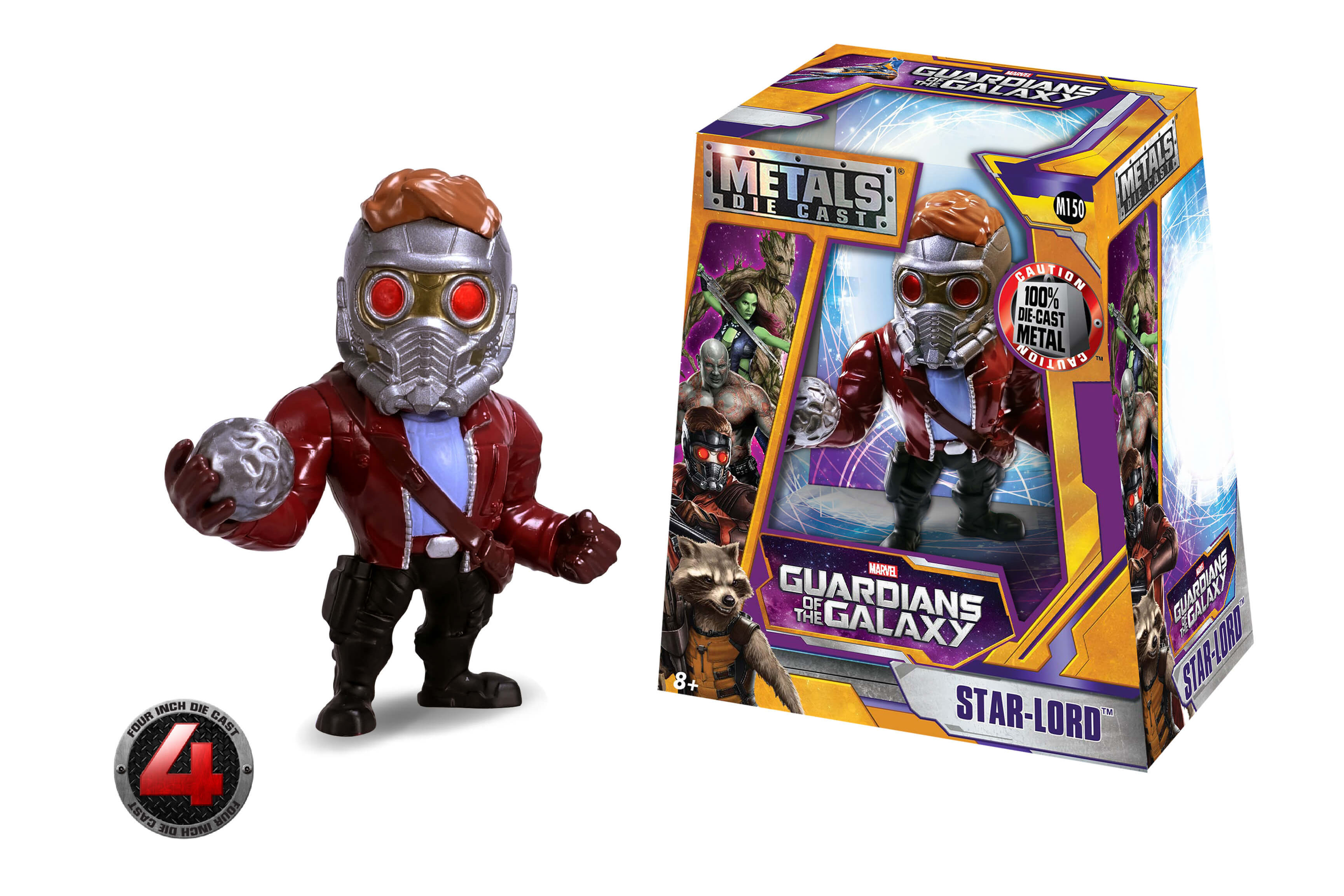 Star lord m150 metals die cast for Galaxy toys