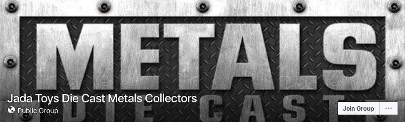Jada Toys Die Cast Metals Collectors