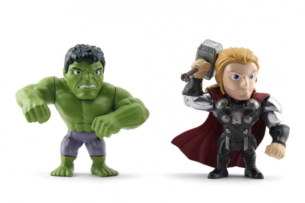 Marvel Twin Pack - Hulk & Thor (M66)