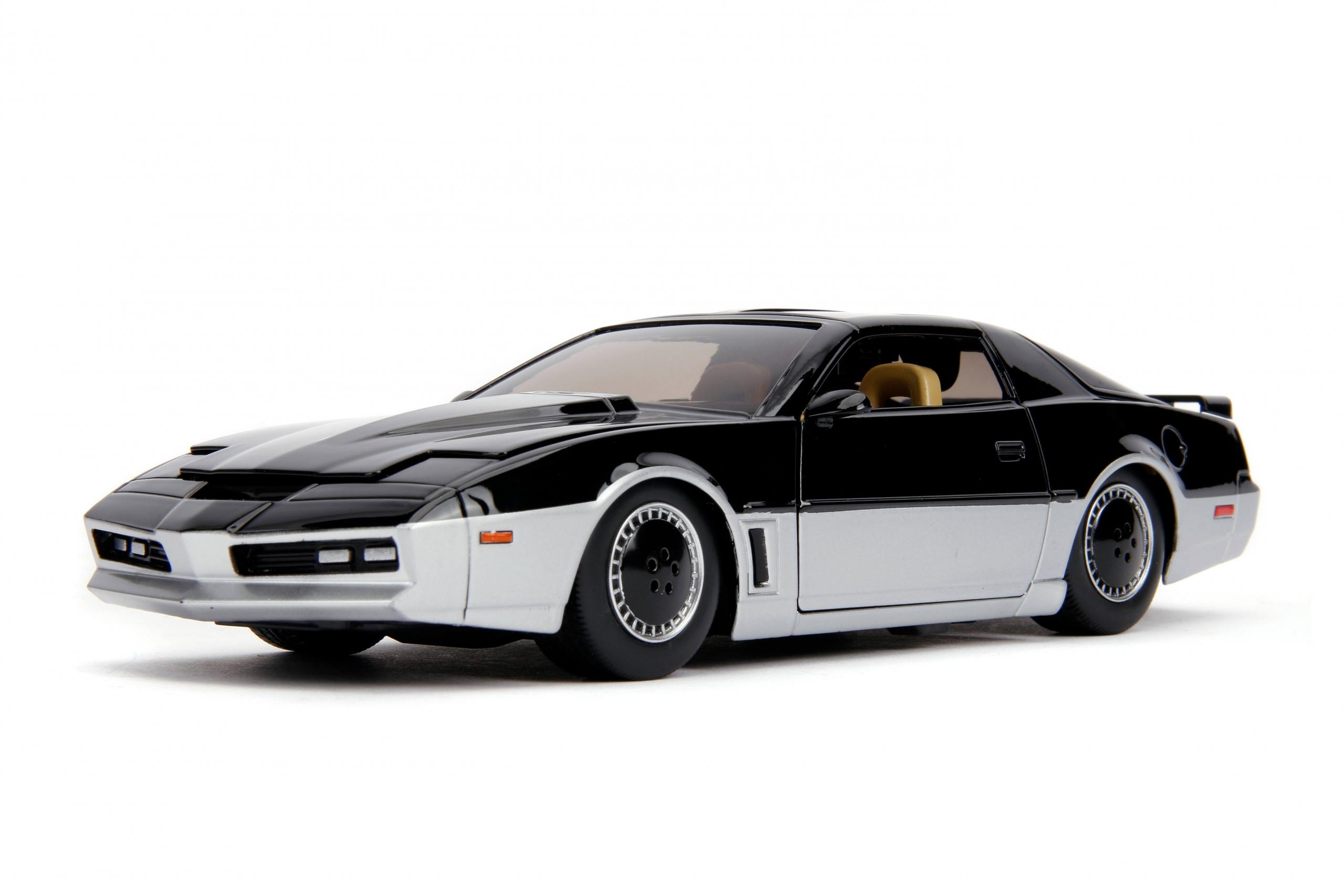 Knight Rider Diecast Model 1//24 1982 Pontiac Trans Am K.A.R.R K.A.R.R con luc