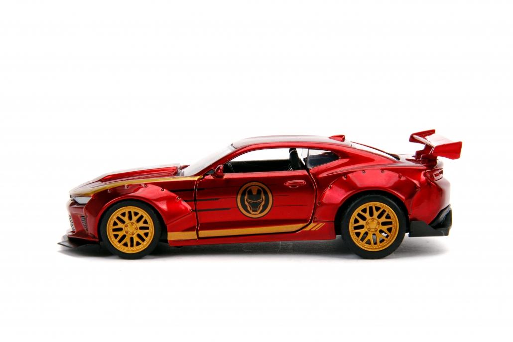 All Star Chevy >> 1:32 Chevy Camaro (Iron Man – Marvel)   Metals Die Cast