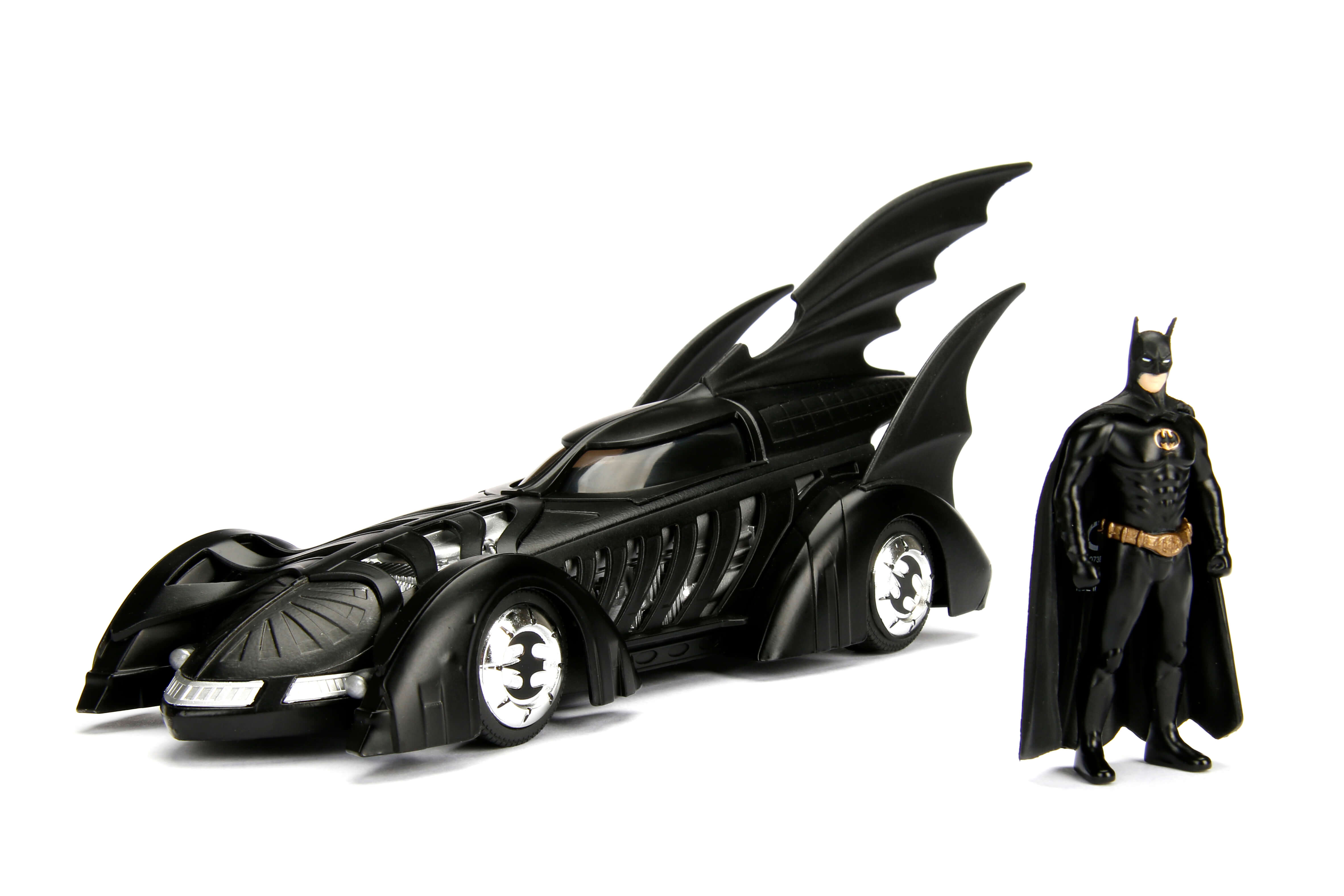 1 24 Batmobile W Batman Figure Batman Forever Metals