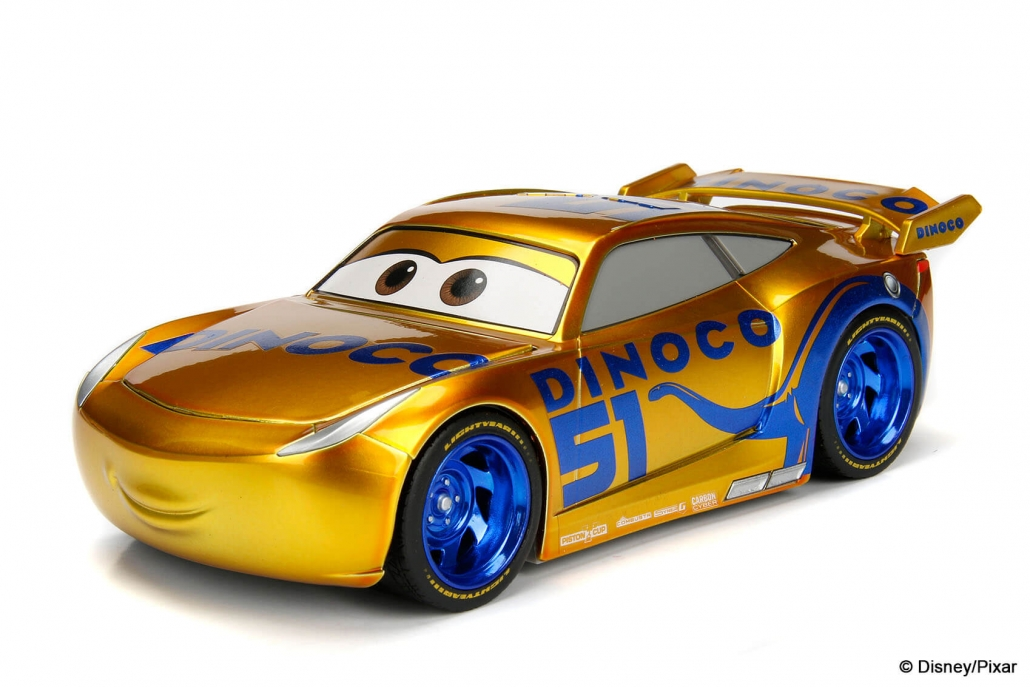 1 24 Cruz Ramirez Dinoco Cars 3 D23 Exclusive Metals Die Cast