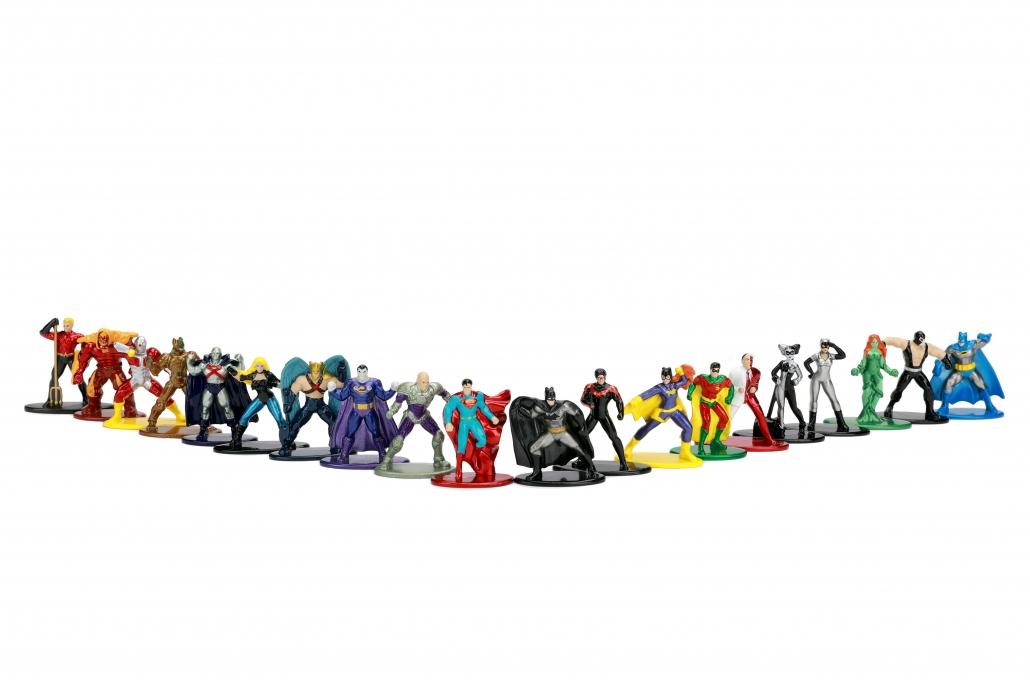Jada Toys Nano Metalfigs Power Rangers Diecast Figures 20 Pack Kid Toy Gift