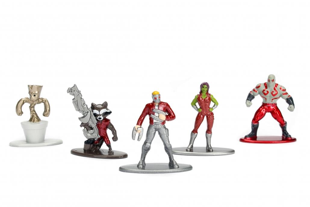Nano Metalfigs Marvel Guardians of the Galaxy w1 5-Pack ...