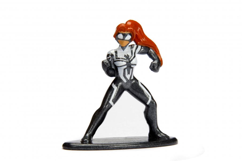 Jada Toys Nano Metalfigs Marvel Spider-Man MV33 Spider-Girl Metal Diecast Fig