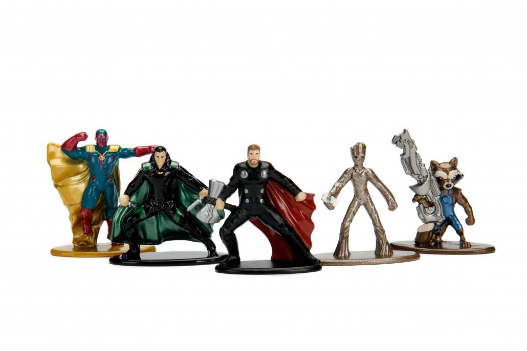 Nano Metalfigs Marvel Avengers Infinity War 5-Pack B ...