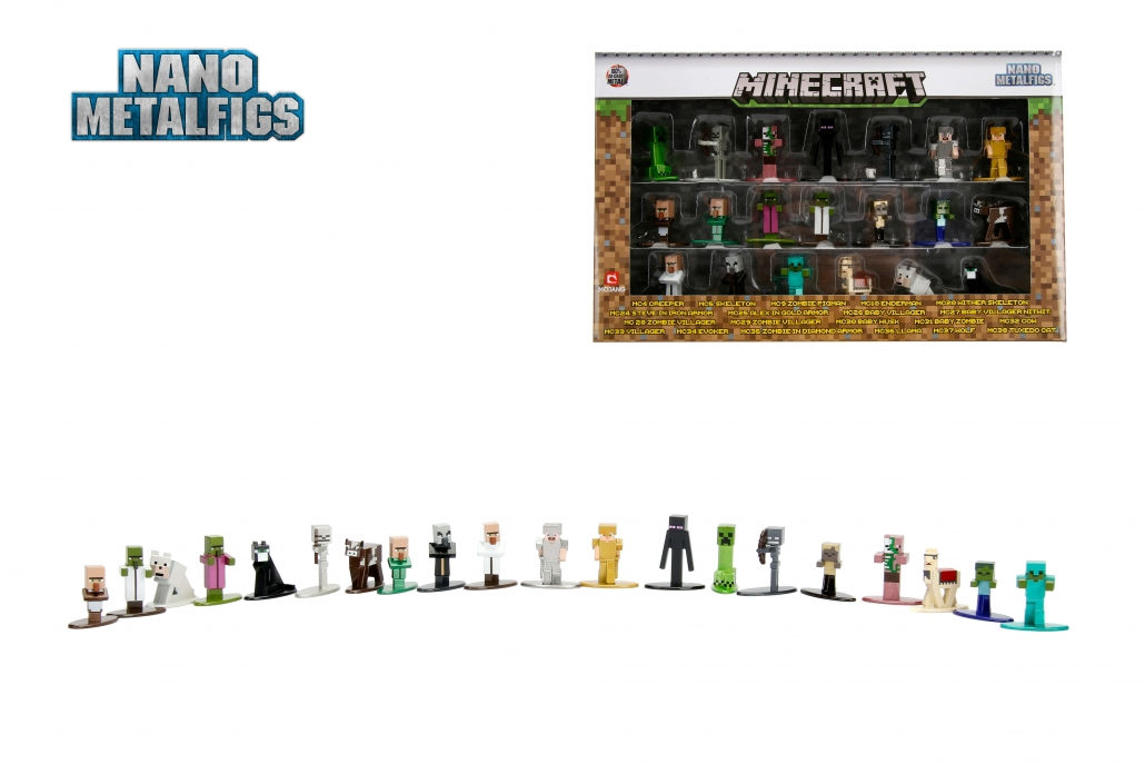 MC20 Nano Metalfigs MINECRAFT Wither Skeleton