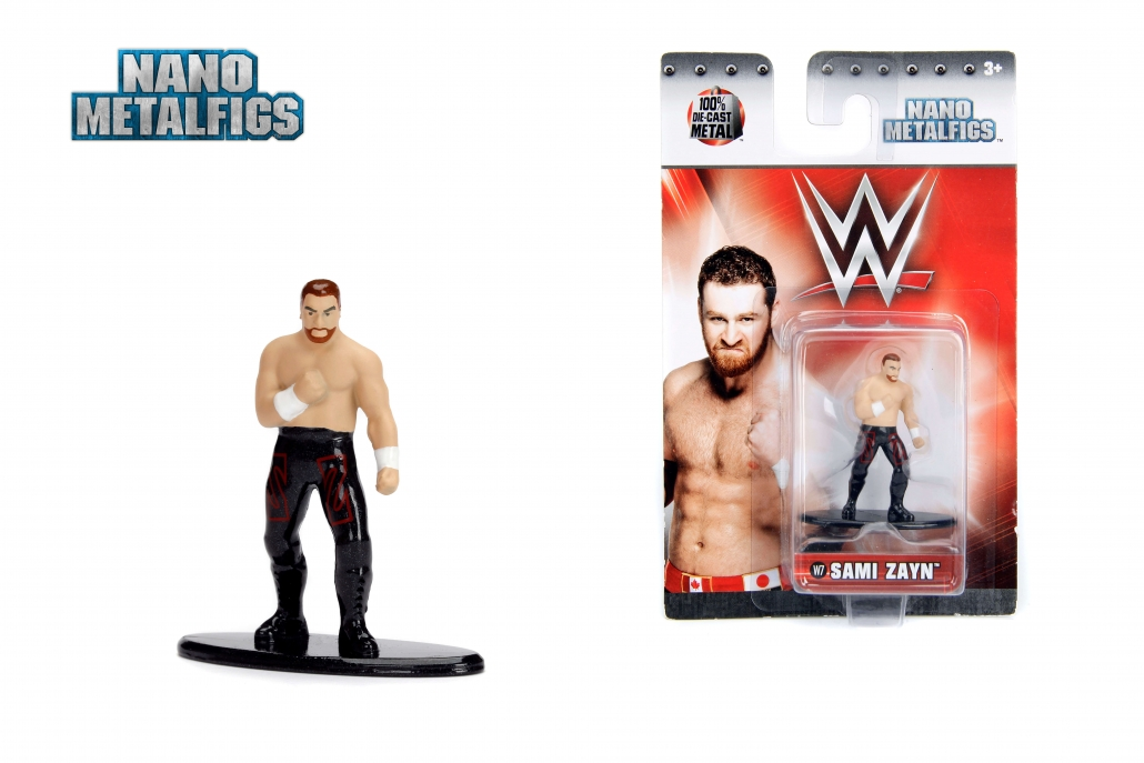 WWE SAMI ZAYN JADA METALS DIE CAST FIGURE NEW